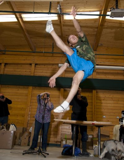 High Kick Game Cambridge Bay - ©Bruce Kemp 2013