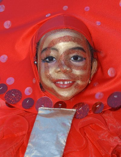 Red Child - Trinidad Carnival - ©Bruce Kemp 2004