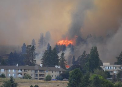 Westbank Fire COver Pic Province - ©Bruce Kemp 2012