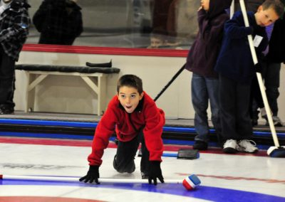 Young Curler - ©Bruce Kemp 2012