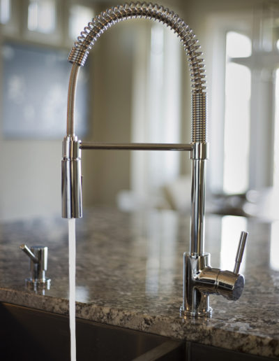 Kitchen Island Sink Faucet- Built-Rite Homes - DSC_5356